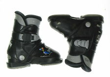 Used Rossignol Black R18 Rear Entry Ski Boots Toddler Size