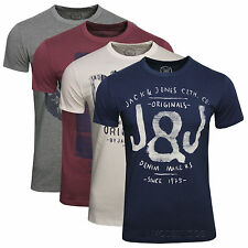 JACK & JONES T-SHIRT CREW- NECK  TTT TEE Gr.S,M,L,XL,XXL