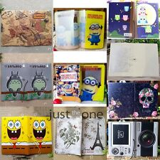 3D Stereo Cartoon/ Floral Passport Holder Cover Identity Document ID Card Folder