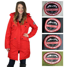 Canadian Outdoors Women's Parka Coat Jacket with Faux Fur Hood