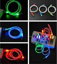 LED Useful Visible Light Android Micro USB Charge Data Sync Fashion Cool Cable