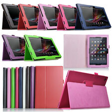 """New Stand Leather Fold Folio Case Cover for 10.1"""" Sony Xperia Tablet Z Tablet"""