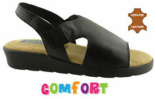 NYPD TIKA WOMENS/LADIES LEATHER COMFORT SHOES/SANDALS/CASUAL/FLATS ON SALE NOW!