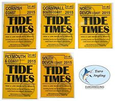 Yellow Publications 2015 Tide Times/Time/Table/Tables High Low Water
