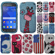 For Samsung Galaxy Ace Style S765C Moo Moo Cow Bling Hard Case Cover Accessory