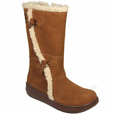 Rocket Dog Slope Suede Boots In Chestnut Shoes Footwear RD3
