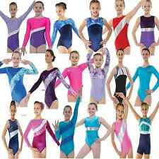 Gymnastics Dance Leotard Costume Girls Lycra Competition Hologram Costume Shine