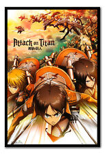 Attack On Titan Japanese Manga Magnetic Notice Board Includes Magnets