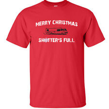 National Lampoons Christmas Vacation T-Shirt Chevy Chase Sh*tters Full