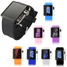 Birthday Gift Candy Silicone Square TVG Watch Sports Womens Designer Students