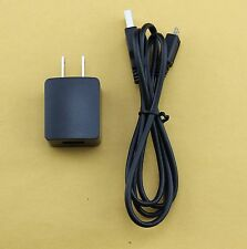 1000 mAh Rapid Home Wall Travel AC Charger Adapter + Data Sync Charger Cable