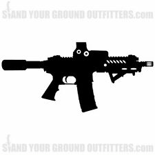 AR15 Pistol Scope EOTECH Rifle Gun Second Amendment Decal Sticker