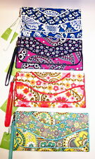 Vera Bradley Clutch Wallet Wristlet Making Waves Choice of Pattern New with Tags