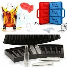 New Multi Weapon Shape DIY silicone ice cube mold tray for Bar Party Kitchen