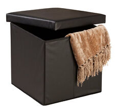 EasyComforts Folding Storage Ottoman