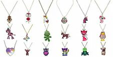 NWT Justice Girls Necklace Assorted Animal Pets Critter Bird Unicorn U Pick NEW