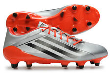 adidas adiZero RS7 Pro TRX SG Rugby Boots Silver Red