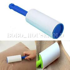 1/2X Lint Pet Hair Dust Dandruff Clothes Cleaning Roller Sticky Paper 10 Sheets