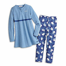 American Girl CL MYAG POLAR BEAR PAJAMAS SIZE XS, S for Girls NEW PJ'S Clothes