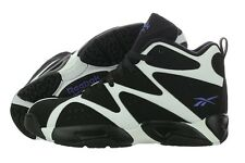Reebok V60359 Kamikaze I Mid White Black Basketball Shoes Medium (D, M) Mens