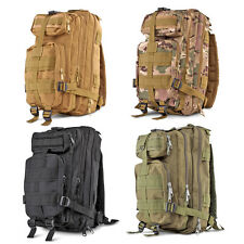 Outdoor Military Tactical Rucksack Backpack for Camping Hiking Hunt Trekking Bag