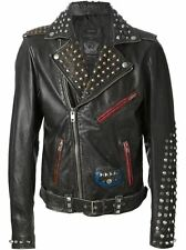Diesel L-Sneh Black Leather Jacket 900