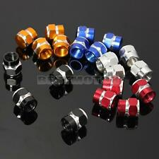 4x Aluminum Tire Tyre Wheel Pressure Valve Stem Caps Car Truck Motocycle Bicycle