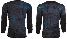 Xtreme Couture AFFLICTION Mens THERMAL T-Shirt SHERWOOD Tattoo Biker M-3XL $58