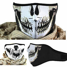 CHIC Skull Neoprene Half Face Mouth Mask Ski Snowboard Motorcycle Protection