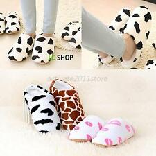 Soft Winter Home House Non-slip Slippers Cotton Warm Sandal Slippers Women Men