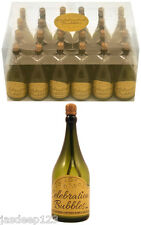 Champagne Bottle Bubbles and Wands Wedding Favour Party Green Table Decorations