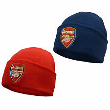 Arsenal Football Club Official Soccer Gift Knitted Bronx Beanie Hat