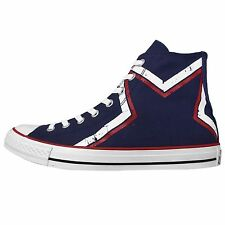 Converse Chuck Taylor All Star Pentagram Blue Unisex Classic Casual Shoes