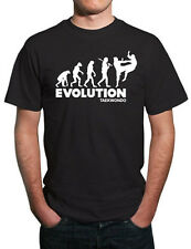 Evolution of Taekwondo Martial Arts T-Shirt. All Sizes!