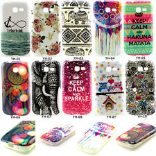 Soft Rubber Cover Case For Samsung Galaxy Fresh Lite Trend Duos GT S7390 S7392