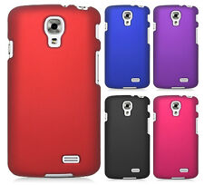 For Straight Talk LG Access L31G Rubberized HARD Protector Case Phone Cover