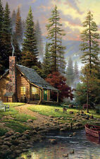 Country Cabin Design ) Rustic Scene  Home Decor LIGHT SWITCH PLATE Wall Art