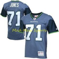 WALTER JONES Seattle SEAHAWKS MITCHELL AND NESS Throwback PREMIER Jersey S-XXL