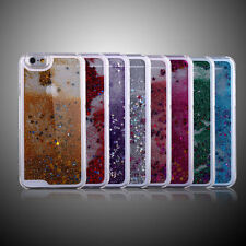 Beauty Bling Clear Glitter Star Liquid Quicksand Back Hard Protector Case Cover