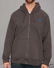 New The North Face Logo Full Zip  Fleece Graphite Grey Hoodie Jacket 3XL