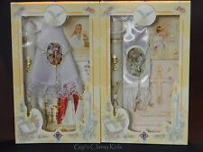 New First Communion Candle Box Gift Set For Boys or Girls English or Spanish