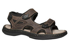 HUSH PUPPIES BREAK MENS LEATHER COMFORT SANDALS ON SALE NOW $59.95 ! RRP $119.95