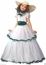 SOUTHERN BELLE Girl Ball Gown Dress Colonial Prairie Halloween Child Costume