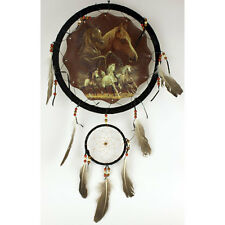 "13"" Nature Wildlife DREAM CATCHERS Beautiful Wall Hanging Dreamcatcher Decor NEW"