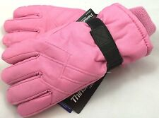 Girls Ski Snow Winter Gloves NWT 7-16 Years NWT Insulated One Size #202272