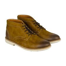 Clarks Raspin Limit Mens Tan Suede Casual Dress Boots Shoes