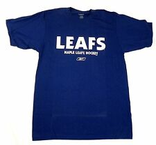 Toronto Maple Leafs Shirt Men's NHL Hockey Face Off Collection Tee