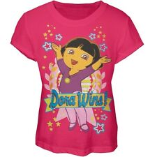 Dora The Explorer - Dora Wins Girls Youth T-Shirt