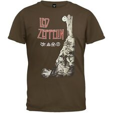 Led Zeppelin - Stairway To Heaven Brown Adult Mens T-Shirt