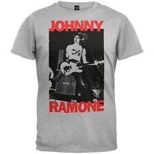 Ramones - Johnny Ramone Adult Mens T-Shirt